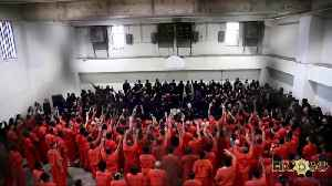 Kanye West performs for Houston jail inmates [Video]