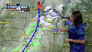 Rain/snow showers today with a high of 39 [Video]