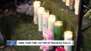Vigil for victim of Niagara Falls fire [Video]