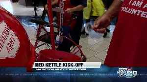 Salvation Army kicks off Red Kettle campaign [Video]