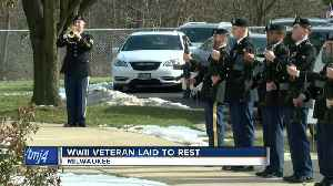 WWII Veteran laid to rest years after his death [Video]
