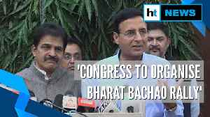 'Bharat Bachao' rally to save nation from BJP's anti-people policies: Congress [Video]