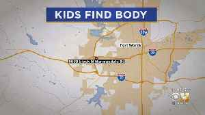 Children Find Body While Playing Outside At Fort Worth Apartments [Video]