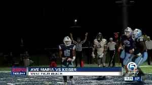 Ave Maria University vs Keiser University [Video]