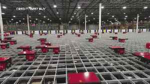 A Look At Best Buy's High-Tech Order Fulfillment Tools [Video]