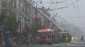 4-Alarm Fire Rips Through Apartment Building In San Francisco's Castro District [Video]