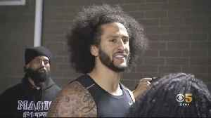 Kaepernick Showcases Skills During Highly Anticipated Workout In Atlanta [Video]
