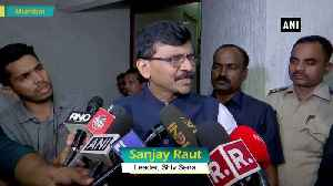 News video: Maharashtra Govt to be under Shiv Sena CM leadership reiterates Sanjay Raut