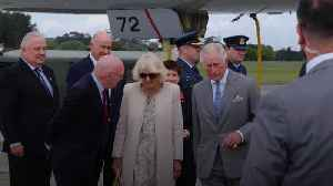 Prince of Wales and Duchess of Cornwall arrive in New Zealand