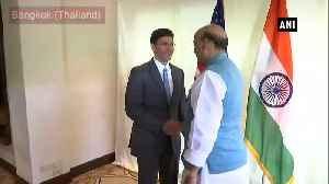 Rajnath Singh meets US Defense Secretary Mark Esper in Bangkok [Video]