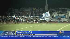 Crosstown Rivals Cheer For Saugus High [Video]
