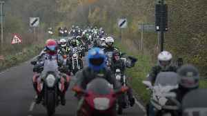 Hundreds of bikers pay tribute to Harry Dunn [Video]