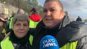 Gilets Jaunes one year on: Roadside 'big family' faces a crossroads [Video]