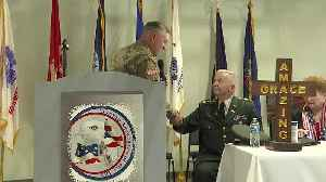 Local veteran earns volunteer of the year in hospice care [Video]