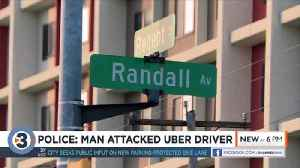 Would-be Uber rider attacks driver, chokes him unconscious, causing crash, police say [Video]