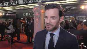 Daniel Ings calls the new season of 'The Crown' a five star production in every sense of the word [Video]