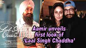 News video: Aamir unveils first look of 'Laal Singh Chaddha'