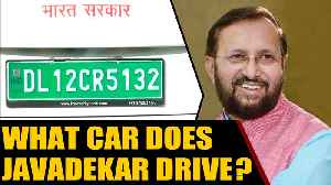 Prakash Javadekar drives an electric car, sets a trend | OneIndia News [Video]