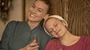 Exclusive: The Handmaid's Tale's Yvonne Strahovski Breaks Down June and Serena Joy's Bond [Video]