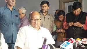 Sharad Pawar on Maharashtra political situation [Video]