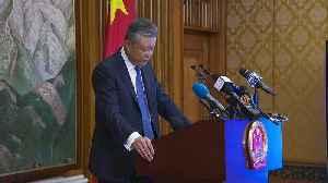 Chinese Ambassador warns against interference in Hong Kong [Video]