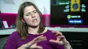 Swinson: ITV debate is an 'establishment stitch up' [Video]