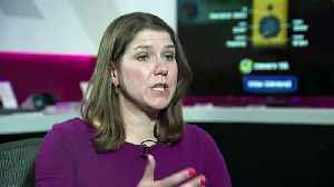 Swinson: Corbyn not fit to lead country [Video]