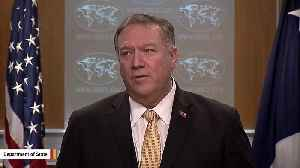 Pompeo: Israel's West Bank Settlements Not Inconsistent With International Law [Video]