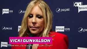 Watch! 'Real Housewives Of Orange County' Star Vicki Gunvalson Emotionally Recalls Her Reunion Meltdown [Video]