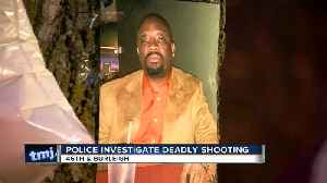 Police investigating a deadly shooting near 46th & Burleigh [Video]