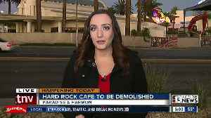 Hard Rock Cafe scheduled for demolition [Video]