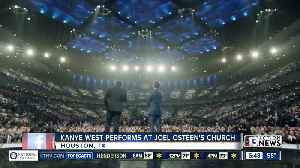 Kanye West performs at Joel Osteen's church [Video]