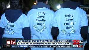 Vigil for Santa Clarita School Shooting [Video]