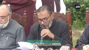 AIMPLB to file a review petition against SC verdict on Ayodhya case [Video]