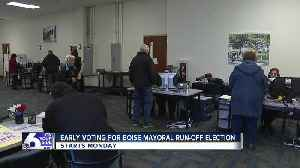 Early voting for Boise mayoral run-off starts Monday [Video]