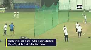 India, Bangladesh practice with pink ball ahead of Day Night Test [Video]