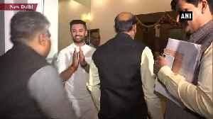 LS Speaker Om Birla meets Ram Vilas Paswan at his residence [Video]