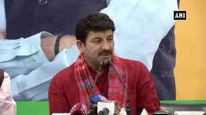 News video: Manoj Tiwari slams CM Kejriwal over Delhi tap water as most unsafe