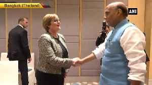 Rajnath Singh attends Australia-India bilateral meet in Bangkok [Video]