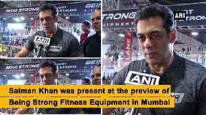 Steroids are being misused, should be avoided Salman Khan [Video]