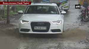 Unseasonal rain lashes Tamil Nadu Rameswaram [Video]