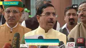 News video: We're allotting Shiv Sena opposition seat both in LS and RS Pralhad Joshi