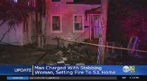 Man Charged in Staten Island Stabbing, Fire [Video]