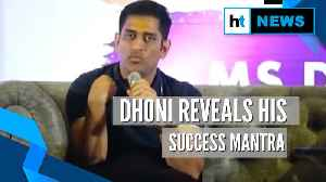 MS Dhoni reveals his success mantra while batting at number 6 for India [Video]