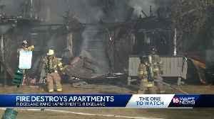 Fire destroys apartment in Ridgeland [Video]