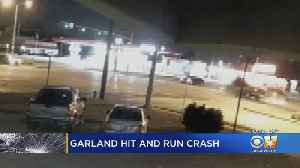 Garland Police Release Footage Of Deadly Hit-And-Run, Still Searching For Driver [Video]
