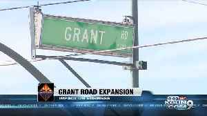 Grant Road expansion could affect business traffic [Video]