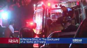 10 Hit, 4 Killed In Mass Shooting During Fresno Backyard Gathering [Video]