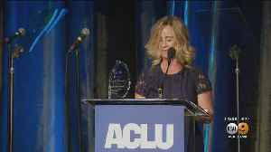 Brett Kavanaugh Accuser Dr. Christine Blasey Ford Honored By SoCal ACLU [Video]