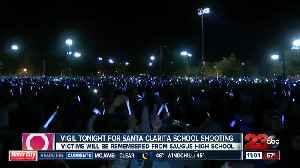 Thousands attend Santa Clarita Vigil [Video]